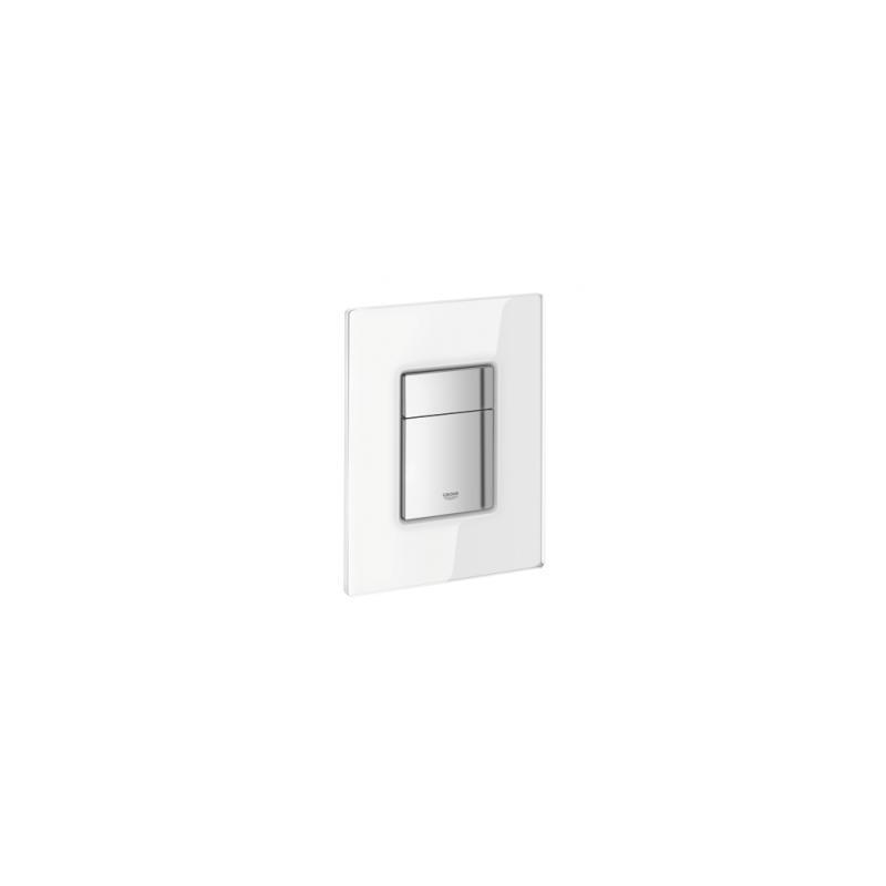 Grohe WC klavišas, Skate Cosmopolitan, baltas stiklas/chromas