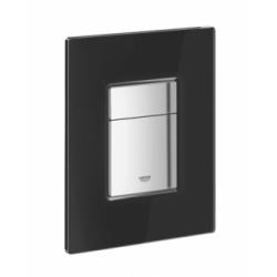Grohe WC klavišas, Skate Cosmopolitan, juodas stiklas