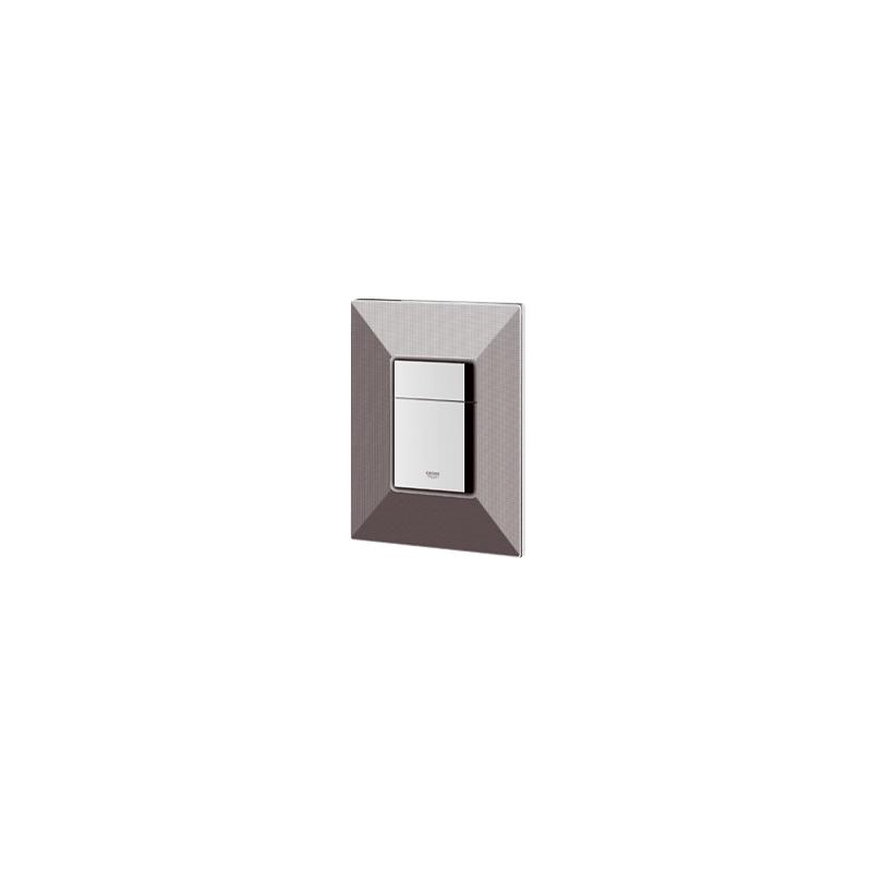 Grohe WC klavišas, Skate Cosmopolitan, chromas/juodas
