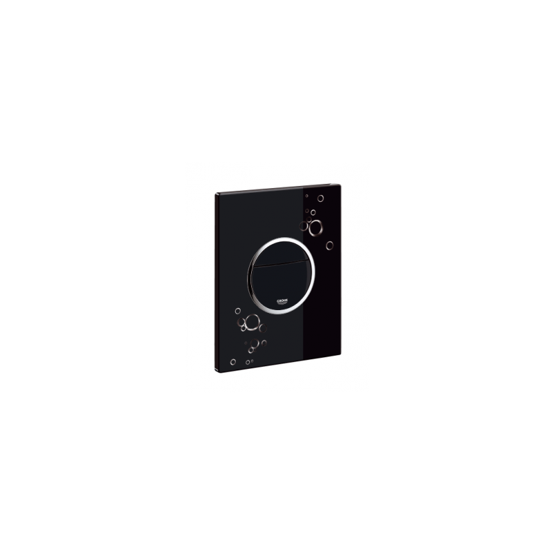 Grohe WC klavišas, Nova Cosmopolitan, juodas/chromas