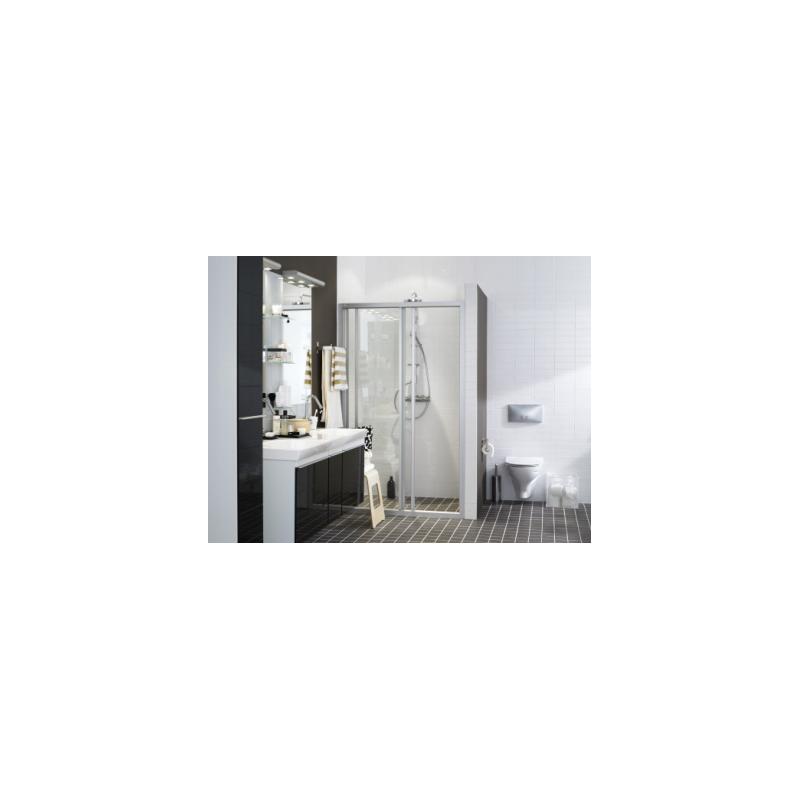 Dušo sienelė IFO SOLID SVS NK 12 profilis aliumio, stiklas skaidrus