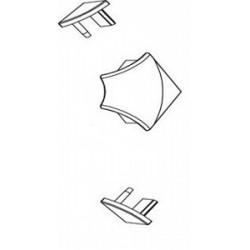 Apdailos juostelės 11 kampelių komplektas RAVAK, baltas