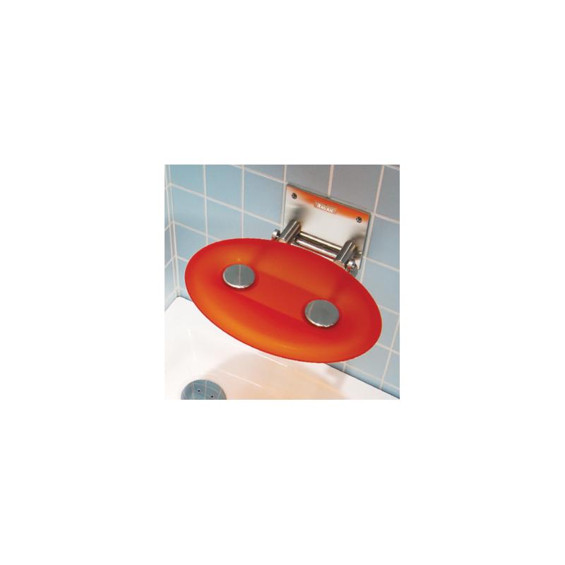 Dušo sėdynė OVO-P ORANGE universali