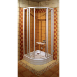 Dušo kabina SKCP4-90 TRANSPARENT stiklas