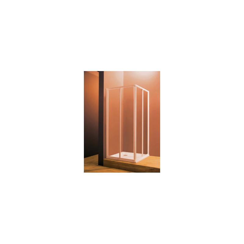 Dušo durys (kampas) Ravak SRV2, 80 cm, Grape
