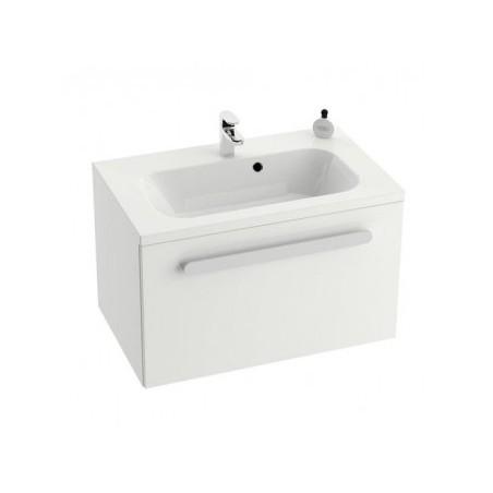 Vonios spintelė praustuvui RAVAK CHROME SD-700, Balta