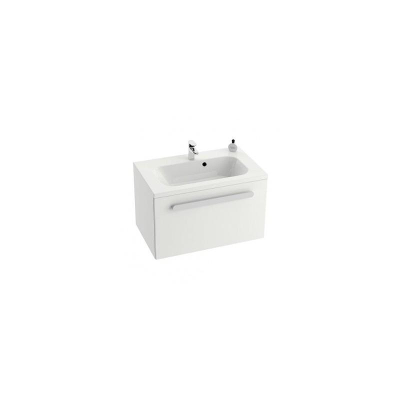 Vonios spintelė praustuvui RAVAK CHROME SD 600, Balta