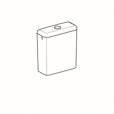 WC bakelis Geberit, Smyle, šoninis pajungimas