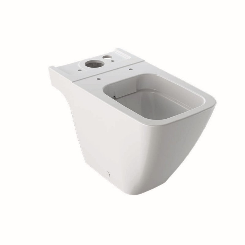 WC pastatomas puodas Geberit, iCon Square, Rimfree